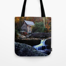 Old Grist Mill Tote Bag