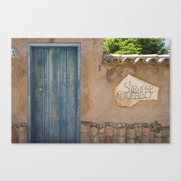 Siempre Pueblo Canvas Print