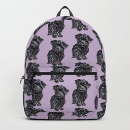 Yorkiepoo Pups Backpack