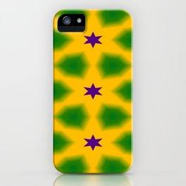 Mardi Gras Stars 3599 iPhone Case
