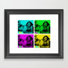 Ron Jeremy Framed Art Print
