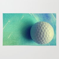 golf Area & Throw Rugs featuring GOLF by Yilan