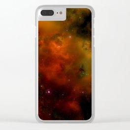 Cosmic Nebula In Space Clear iPhone Case