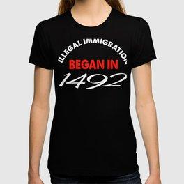Native American Day Anti Columbus Day  T-shirt