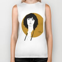 melissa smith Biker Tanks featuring Patti Smith by Le Butthead