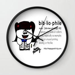 Bibliophile  Wall Clock