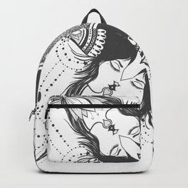 Kiss & Dream B&W Backpack