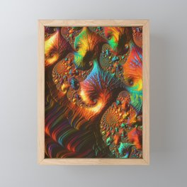 Fractal Art: Fabled Paths Framed Mini Art Print