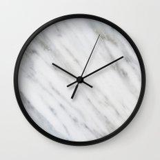Carrara Italian Marble Wall Clock