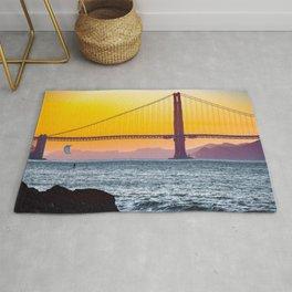 Golden Gate Bridge, San Francisco #decor #society6 #buyart Rug