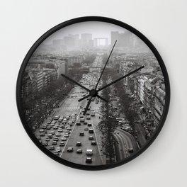 Paris Landscape 2 Wall Clock