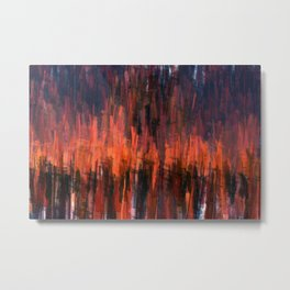 Burn It To The Ground Metal Print