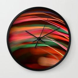 Light Rays Wall Clock