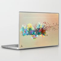 colombia Laptop & iPad Skins featuring Colombia by LinaG