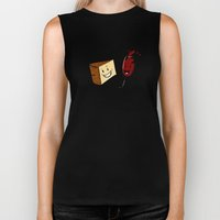 Manchego & Red Wine Biker Tank