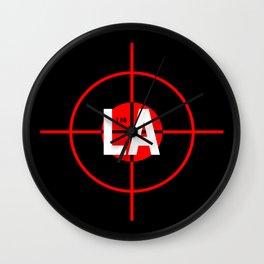 I H8 LA Wall Clock