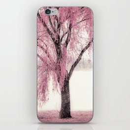 Pink Willow iPhone Skin