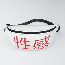 Chinese characters of Sexy Fanny Pack