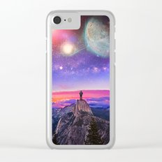 Whatever's Out There Clear iPhone Case