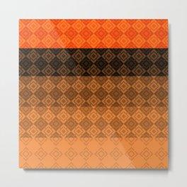 4 Abstract geometric pattern Metal Print