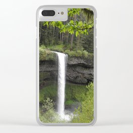 Water Fall Clear iPhone Case