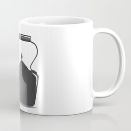 Victorian Black Kettle Coffee Mug