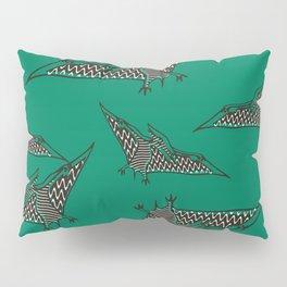 Pterosauria green Pillow Sham