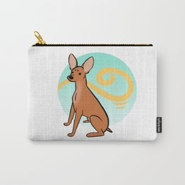 Red MinPin Carry-All Pouch