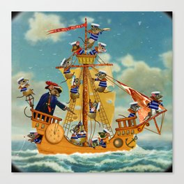 S.S. Will Power Canvas Print