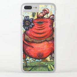 Agatha Clear iPhone Case