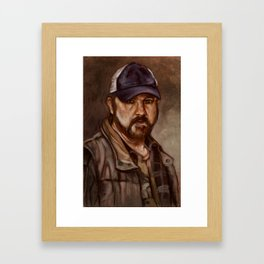 Bobby Singer You Idjits by SachsIllustration Framed Art Print