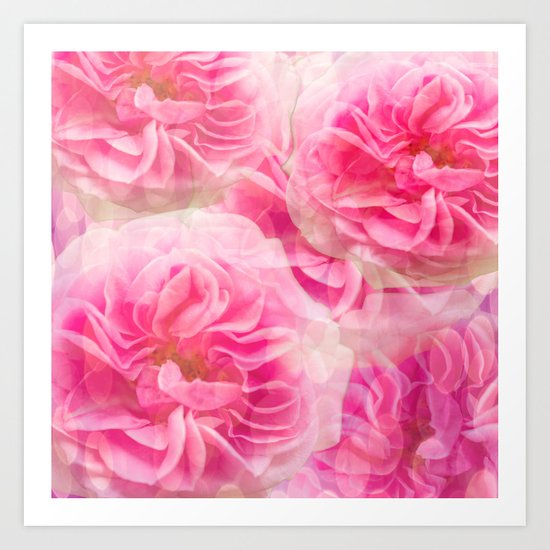 Roses In Pink Tones #decor #society6 #buyart by pivivikstrm