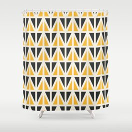 Sunny Triangles Shower Curtain