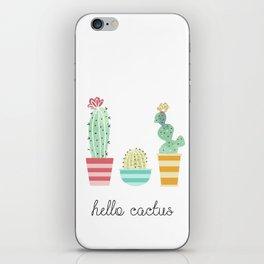 Hello Cactus iPhone Skin