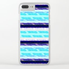 Iteration -Annahí- (Extra Large No. 2) Clear iPhone Case
