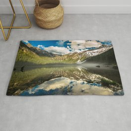 Mountains Reflection Rug