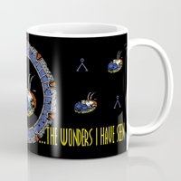 stargate Mugs featuring Starscape 1 by spacemonkey89