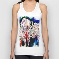 return Tank Tops featuring TRIUMPHANT RETURN by PERRY DAEZIOUH