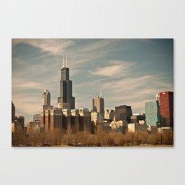 Windy Skyline Canvas Print
