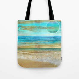 Turquoise Moon Day Tote Bag