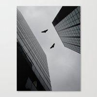 gotham Canvas Prints featuring Gotham by GS Imagery