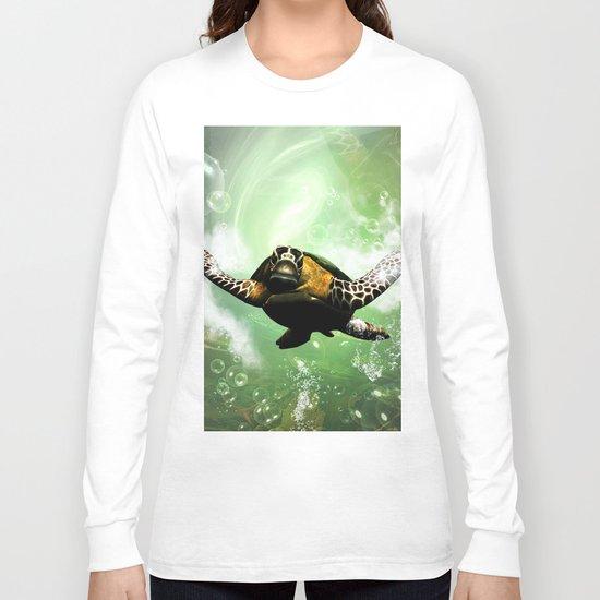 Cute seaturtle Long Sleeve T-shirt