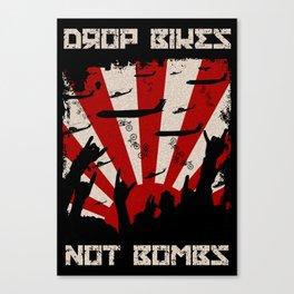 DROP BIKES Canvas Print