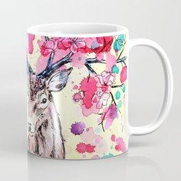 Spring Stag Coffee Mug