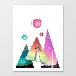 Spacey Wind Sails Canvas Print