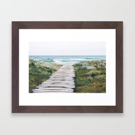 Path to my Heart Framed Art Print