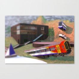 Woodwall Lake Storybook Edition Canvas Print