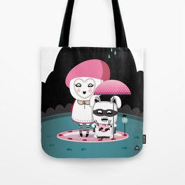 Super Tofu Boy and Sweet Sweet Tofu Tote Bag