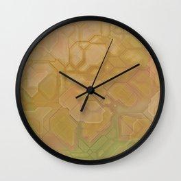 future fantasy oasis Wall Clock