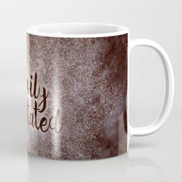 polygon mandala 01 // heavily meditated copper Coffee Mug
